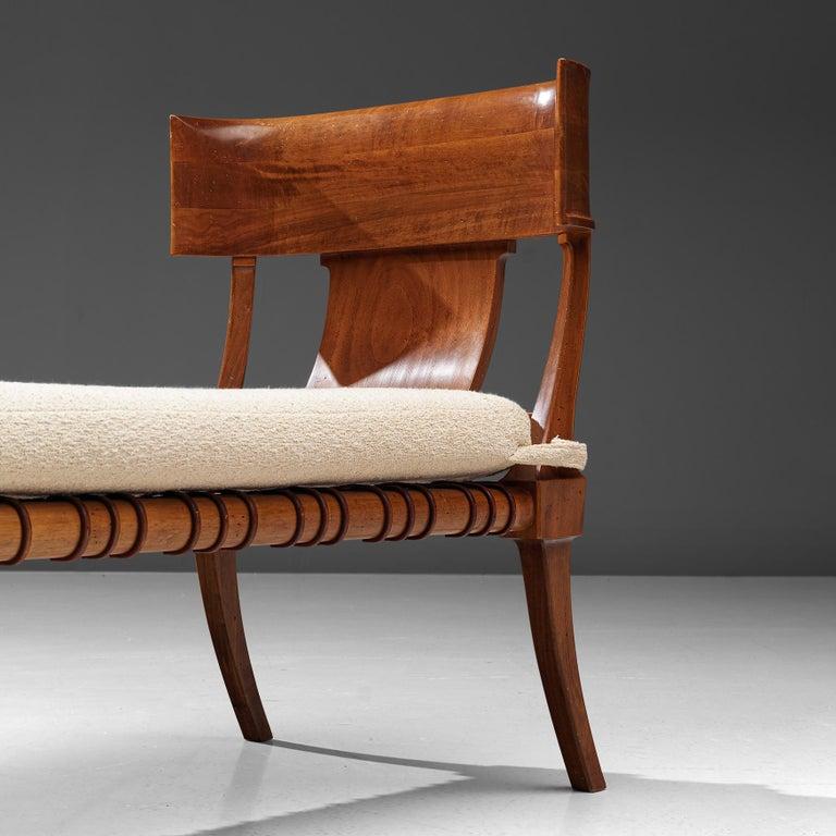 Leather T. H. Robsjohn-Gibbings 'Klini' Chaise Lounge