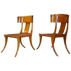 T. H. Robsjohn - Gibbings Klismos Chairs, 1960s