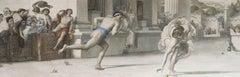 T. Joubert after Sir Edward Poynter - 1881 Engraving, Atalanta's Race