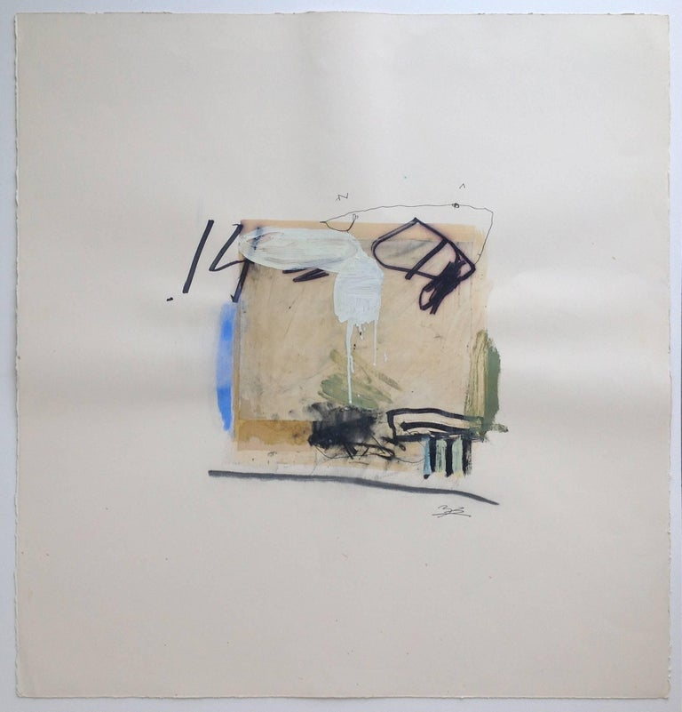 untitled - Painting by T.L. Lange