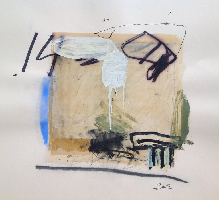 T.L. Lange Abstract Painting - untitled