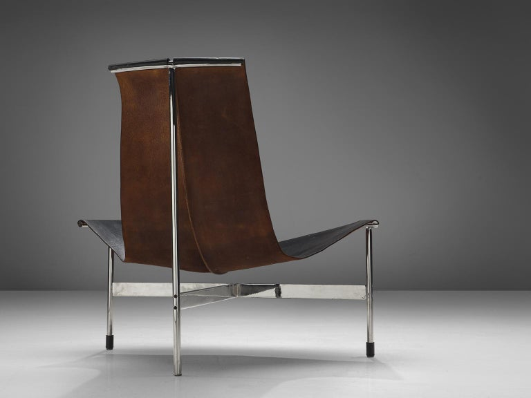 Mid-Century Modern T Lounge Chair '3LC' by Katavolos, Littell, & Kelley for Laverne International For Sale
