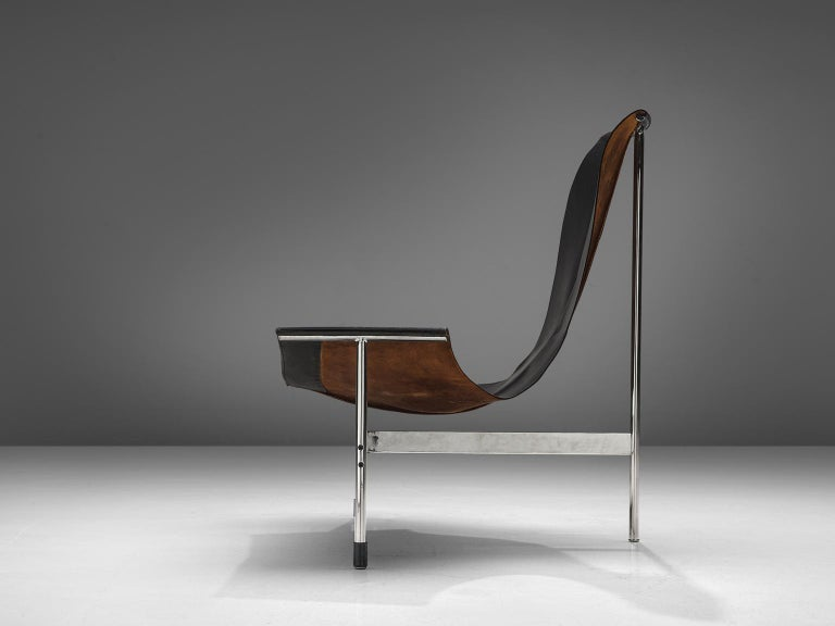 American T Lounge Chair '3LC' by Katavolos, Littell, & Kelley for Laverne International For Sale