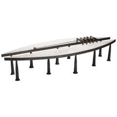 T. Serruys Metal Coffee Table