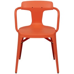 T14 Chair in Coral by Patrick Norguet and Tolix