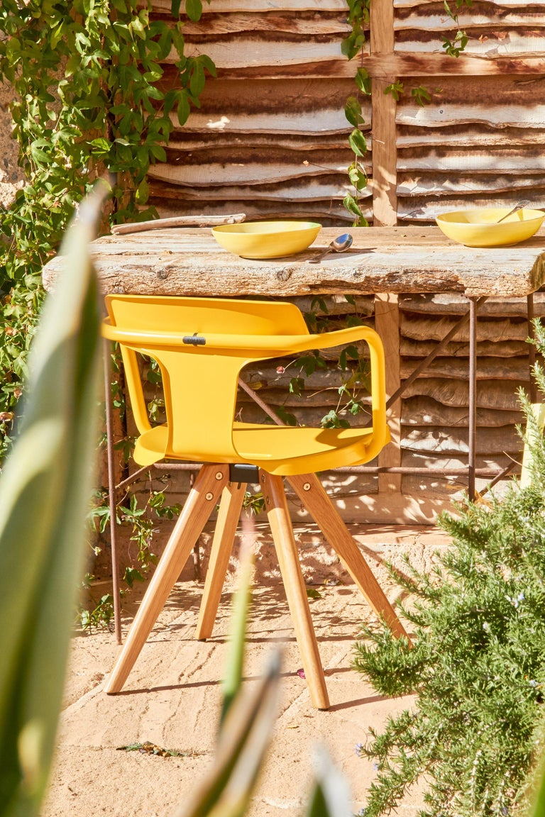 T14 Chair in Essential Colors by Patrick Norguet and Tolix For Sale 7
