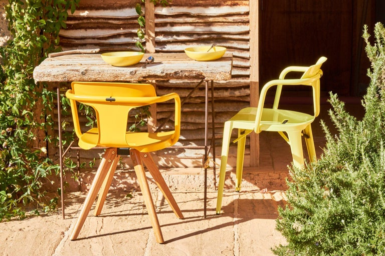 T14 Chair in Essential Colors by Patrick Norguet and Tolix For Sale 10