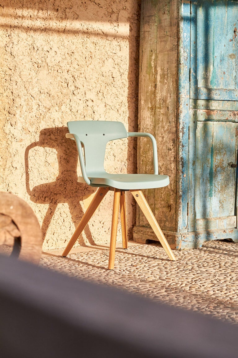 T14 Chair in Essential Colors by Patrick Norguet and Tolix For Sale 1