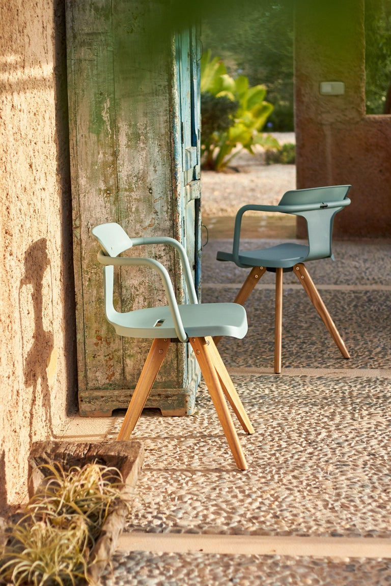T14 Chair in Essential Colors by Patrick Norguet and Tolix For Sale 4
