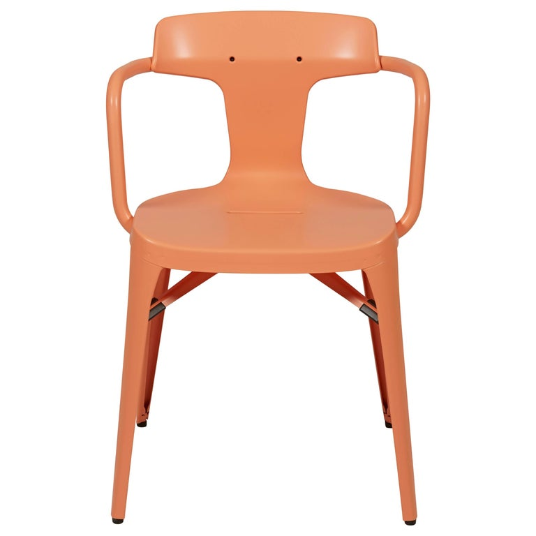 T14 Chair in Flamingo Pink by Patrick Norguet and Tolix For Sale
