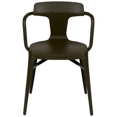 T14 Chair in Forest Green by Patrick Norguet and Tolix