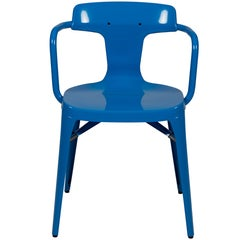 T14 Chair in Sky Blue by Patrick Norguet and Tolix