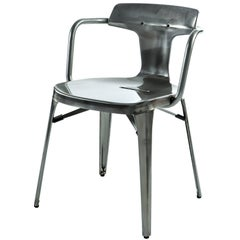 T14 Chair in Steel with Glossy Lacquer by Patrick Norguet and Tolix