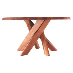 T21 SFAX Dining Table by Pierre Chapo, France