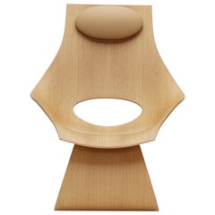 TA001T Dream Chair in Oiled Oak by Tadao Ando