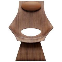 TA001T Dream Chair in Walnut Oil by Tadao Ando