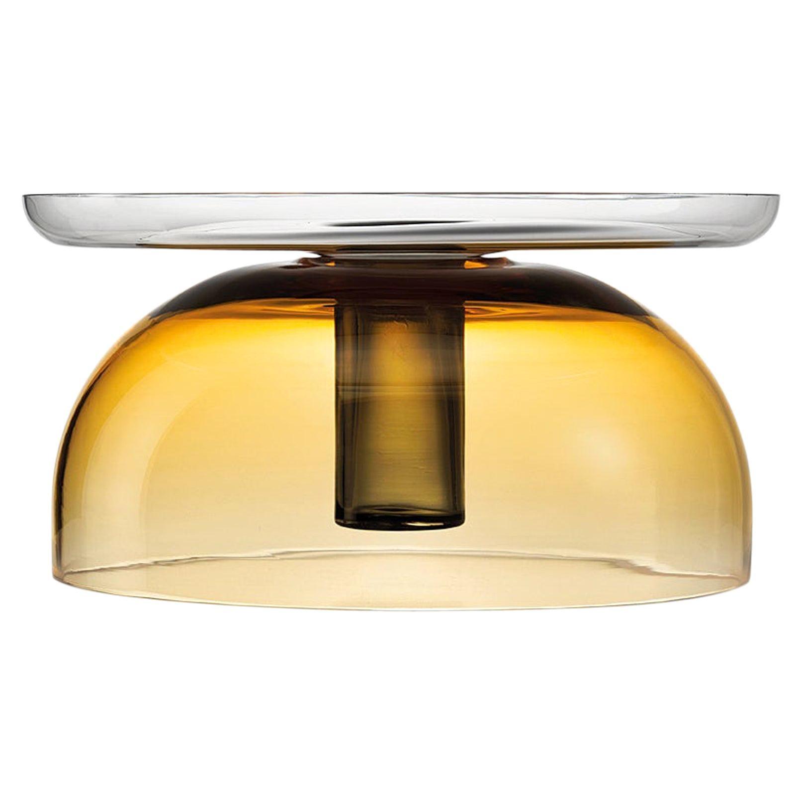 Tabarro Centerpiece in Murano Glass by Alberto Lago