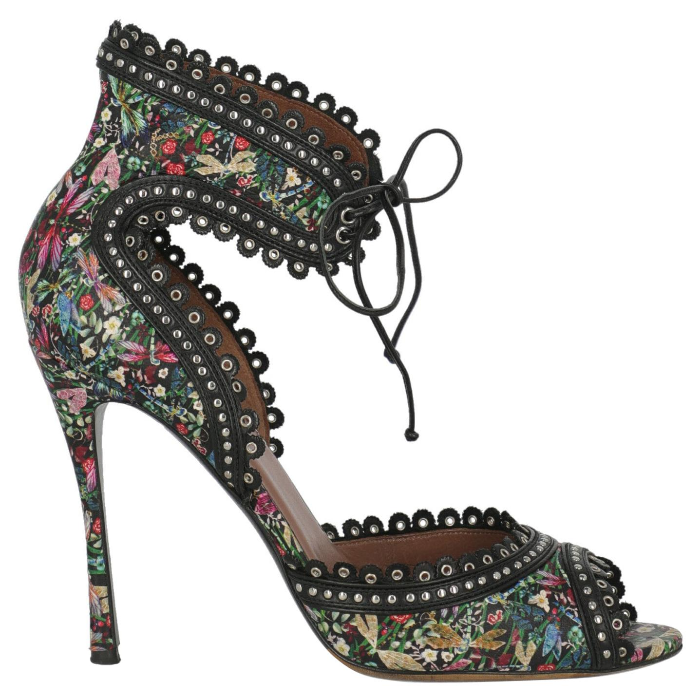 Tabitha Simmons Women  Sandals Black Leather IT 40.5