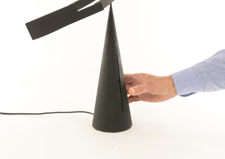 Tabla Table Lamp by Mario Barbaglia and Marco Colombo for Italiana Luce, 1980s 2