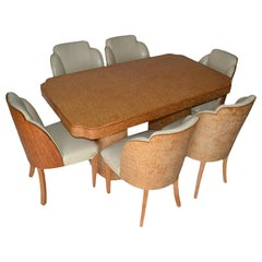 """Table and Chairs """"Harry & Lou Epstein"""""""