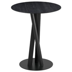 Table Art, Niels, Wood Base and Solid Wood by Massimo Broglio