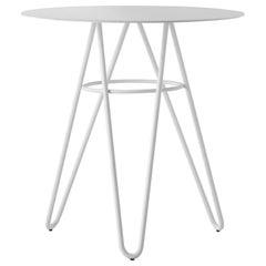 Table Art, Self, Metal Base and Top HPL by Giacomo Cattani Coffee Bar Restaurant