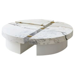 Table Basse Couture, Collection Monochrome by Hervé Langlais