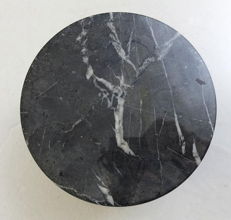 Marble Table Basse 'Metaphora' Massimo & Lella Vignelli En Marbre Et Verre, 1970 For Sale