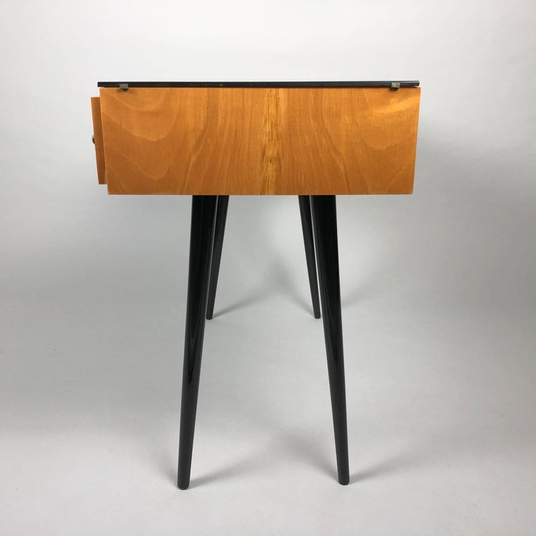 Mid-Century Modern Table by Arch, Mojmir Pozar for UP Zavody, 1960s For Sale