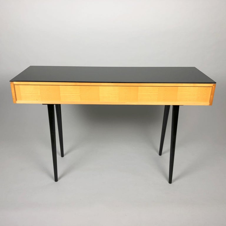 Czech Table by Arch, Mojmir Pozar for UP Zavody, 1960s For Sale