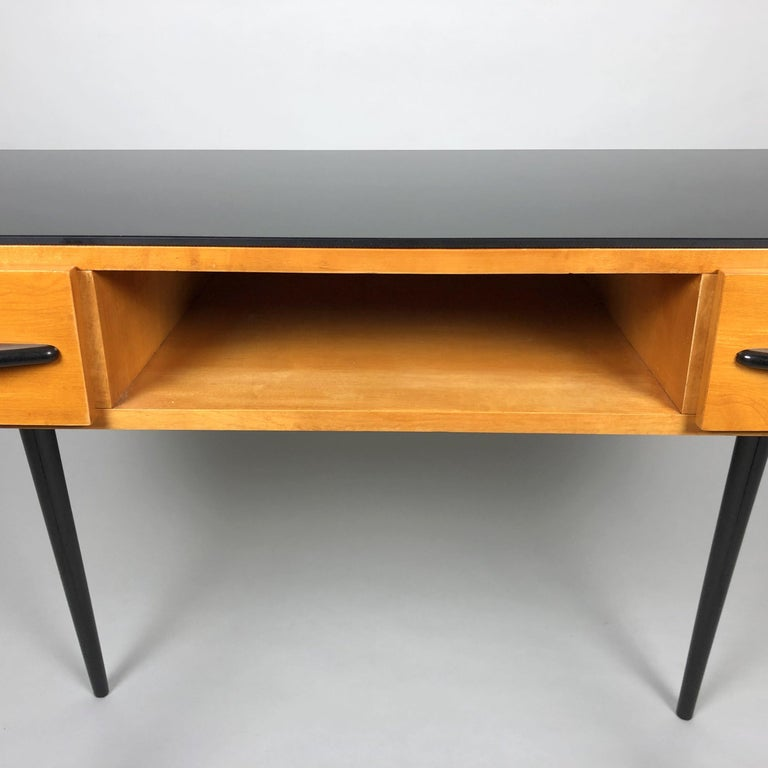 Table by Arch, Mojmir Pozar for UP Zavody, 1960s In Good Condition For Sale In Praha, CZ