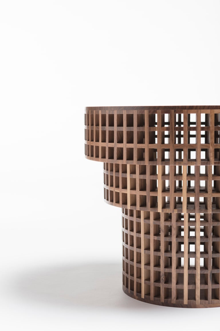 A wooden grating in a two-dimensional form traditionally made with wooden slats, Carabottino is considered to be an accessory element of relative importance, similar to window and door frames, an architectural component that is not perceived as
