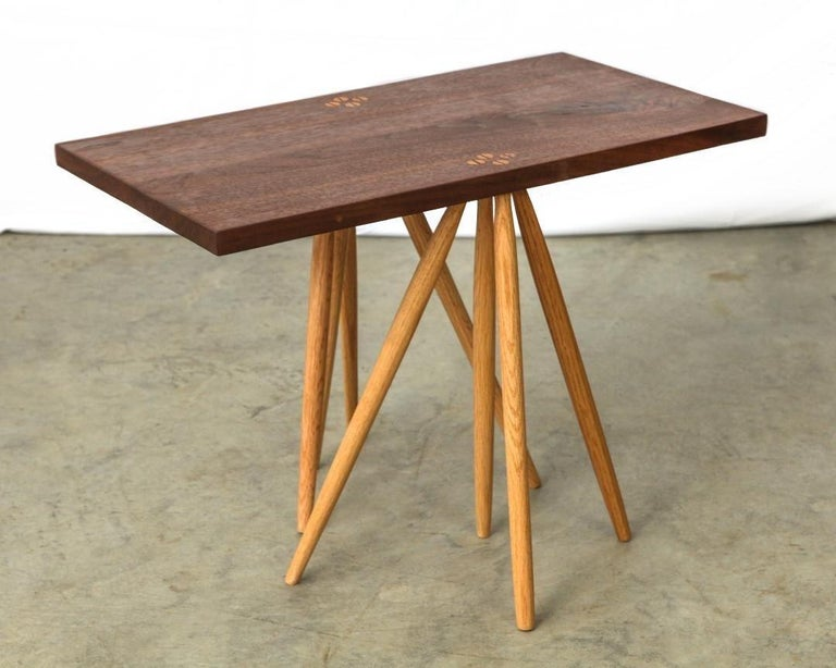 Mid-Century Modern Table by Michael Rozell, USA, 2021 For Sale