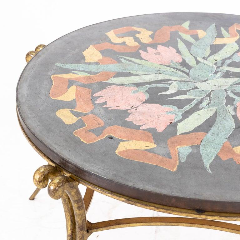 Art Deco Table by René Drouet and Ismael De La Serna, France, circa 1938 For Sale