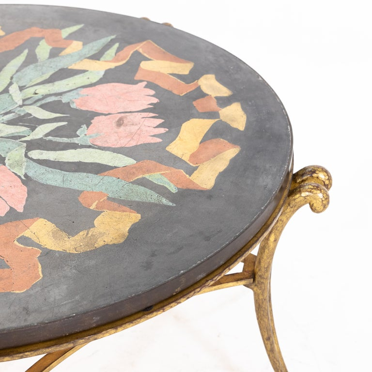 Mid-20th Century Table by René Drouet and Ismael De La Serna, France, circa 1938 For Sale