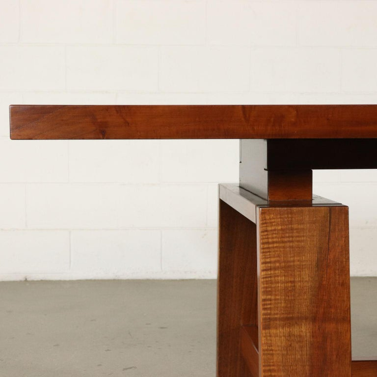 Table by Silvio Coppola Solid Wood Vintage Italy, 1960s-1970s For Sale 5