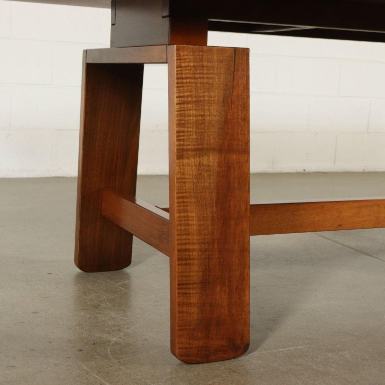Table by Silvio Coppola Solid Wood Vintage Italy, 1960s-1970s For Sale 6