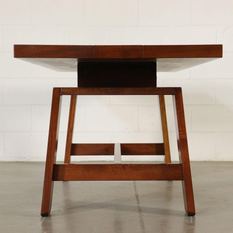 Table by Silvio Coppola Solid Wood Vintage Italy, 1960s-1970s For Sale 7