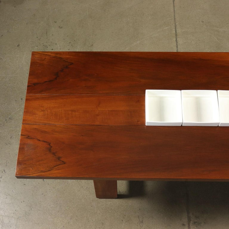 Italian Table by Silvio Coppola Solid Wood Vintage Italy, 1960s-1970s For Sale