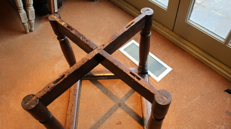 Table, Centre, Dining, Writing, Walnut, Octagonal, French, Renaissance For Sale 5