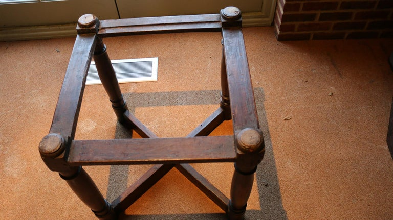 Table, Centre, Dining, Writing, Walnut, Octagonal, French, Renaissance For Sale 6