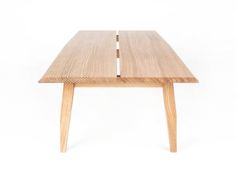 Table, Coffee Table, Walnut, Modern, Hardwood, Rift Collection, Semigood Design 4