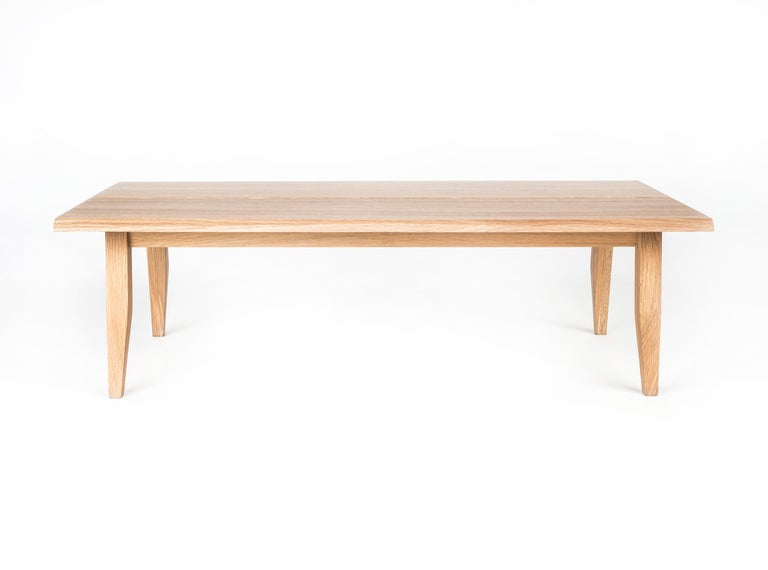Table, Coffee Table, Walnut, Modern, Hardwood, Rift Collection, Semigood Design 5