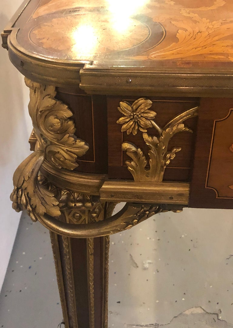 Table De Salon, attributed to Francois Linke Centre Table Louis XV Style For Sale 7