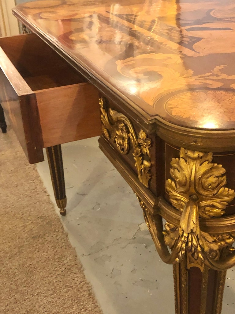 Table De Salon, attributed to Francois Linke Centre Table Louis XV Style For Sale 8
