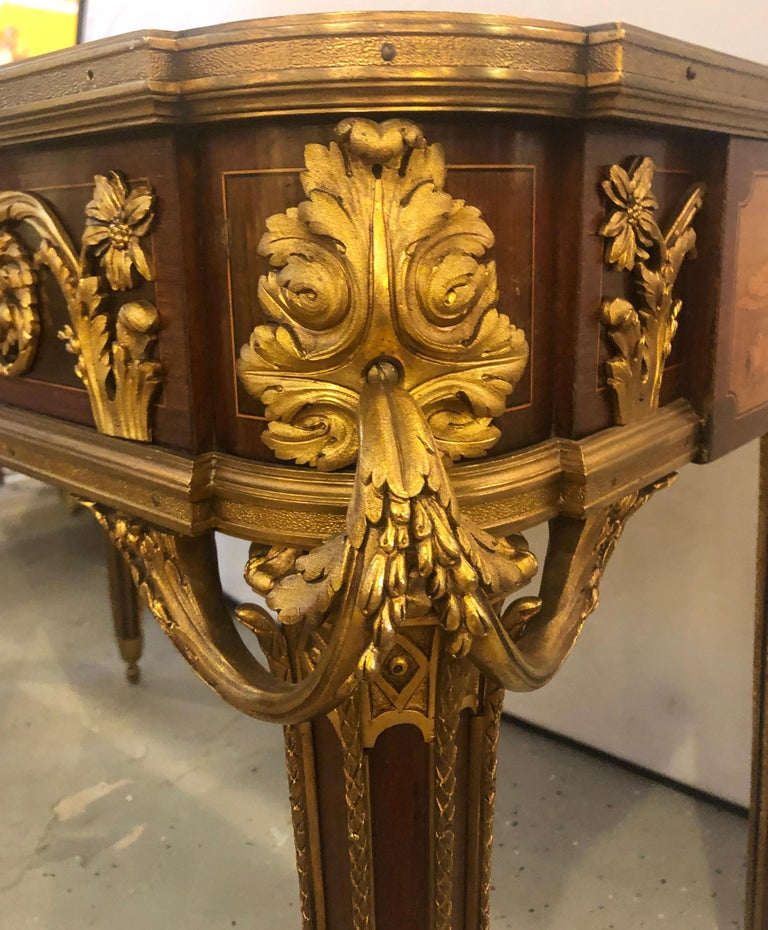 Table De Salon, attributed to Francois Linke Centre Table Louis XV Style For Sale 2
