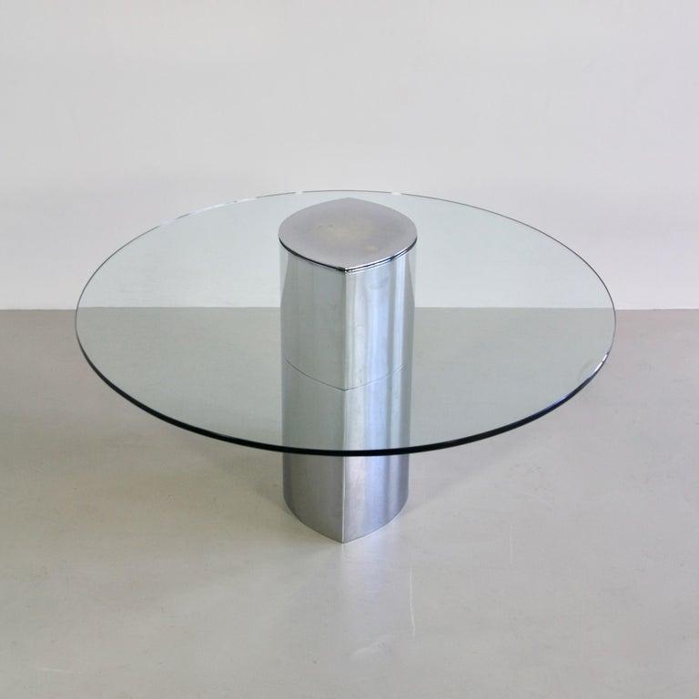 Modern Table or Desk Designed by Cini Boeri, Italy, Gavina, 1971 For Sale