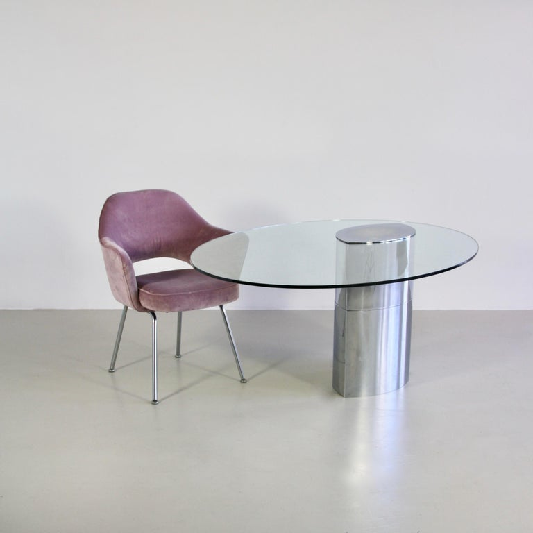 Late 20th Century Table or Desk Designed by Cini Boeri, Italy, Gavina, 1971 For Sale
