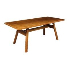 Table Giovanni Michelucci Walnut Veneer, 1960s-1970s