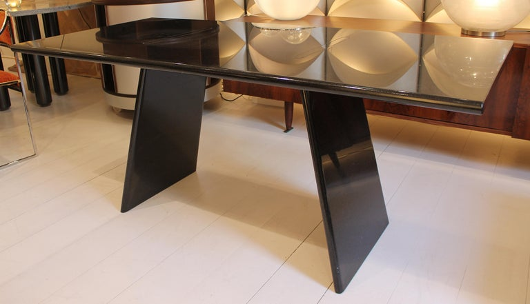 Table in Marble Model 'Asolo' by Angelo Mangiarotti, Italy, 1981 In Good Condition For Sale In Brussels, BE